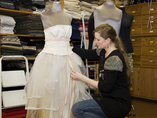 костюмер одежда