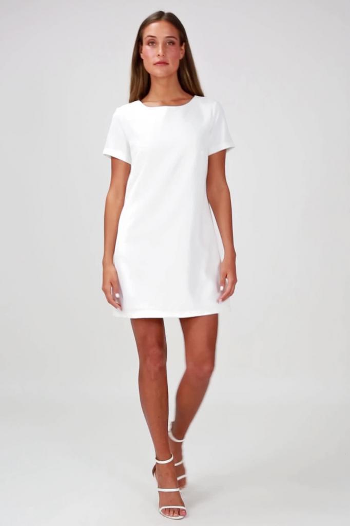 Платье шифт