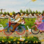 Наивное искусство в живописи: особенности стиля, художники, картины